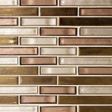 Liquid Bronze Glass Mosaic