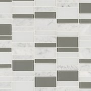 Carrara Tower Glass Mosaic