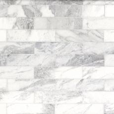Sahara Carrara Marble Tile 3 X 12 100417815 Floor