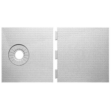 Schluter KERDI-SHOWER-ST Off-Center Shower Drain Tray