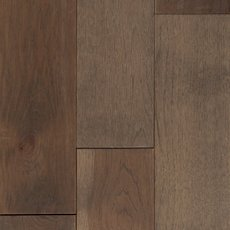 Cobblestone Hickory Wire Brushed Solid Hardwood