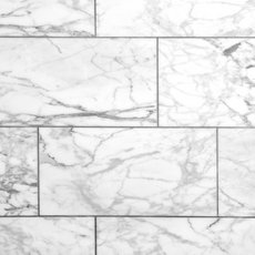 Statuario Honed Marble Tile