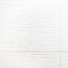 Breeze Blanco Ii Polished Ceramic Wall Tile 10in X 28in