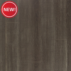 New! EcoForest Charcoal Oak Embossed Solid Stranded Bamboo