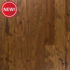 New! Light Brown Hickory Distressed Locking Engineered Hardwood