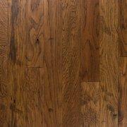 Light Brown Hickory Distressed Locking Engineered Hardwood