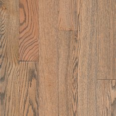 Natural Gray Wash Oak Wire Brushed Solid Hardwood