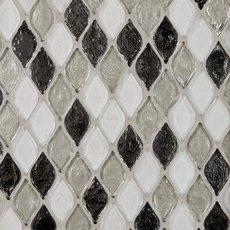 Monaco Pewter Glass Mosaic