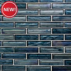 New! Moody Blues Glass Mosaic