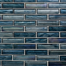 Moody Blues Glass Mosaic 12 X 12 100427137 Floor And