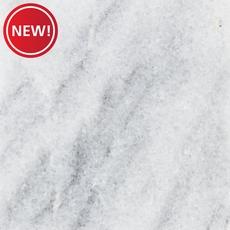 New! Ready to Install Super White Marble Prefab Slab Includes Backsplash