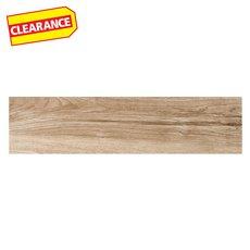Clearance! Kingston Oak Wood Plank Porcelain Tile