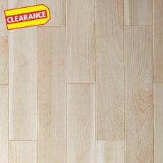 Clearance! Eldridge Ivory Polished Wood Plank Porcelain Tile