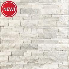 New! Bianco Mikasso Marble Panel Ledger
