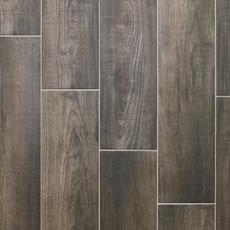 Laguna Anthracite Wood Plank Porcelain Tile 8 X 48