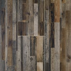 Millworks Wine Barrel Wood Plank Porcelain Tile