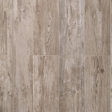 Alleghany Gray Polished Wood Plank Porcelain Tile