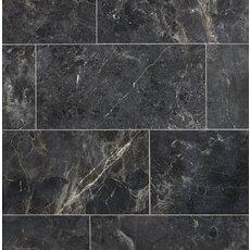 Silver Black Polished Marble Tile