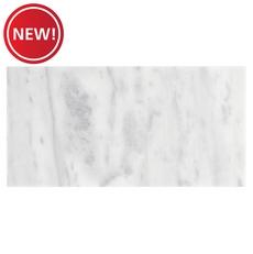 New! Aurora White Polished Marble Tile