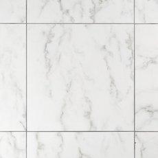 Carrara White Polished Ceramic Tile