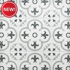 New! Florentina Gray Ceramic Tile