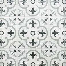 Florentina Gray Ceramic Tile 16 X 16 100439199 Floor