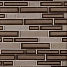 Raw Umber Glass Mosaic