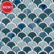 New! Waterscape Glass Mosaic