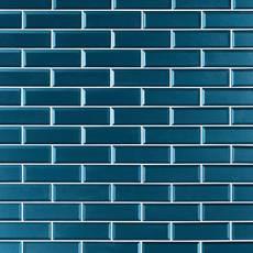 Parisian Blue Glass Wall Tile