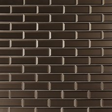 Tobacco Suede Glass Wall Tile
