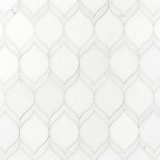 Thassos Impressions Marble Mosaic | Tuggl