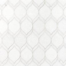 Thassos Impressions Marble Mosaic