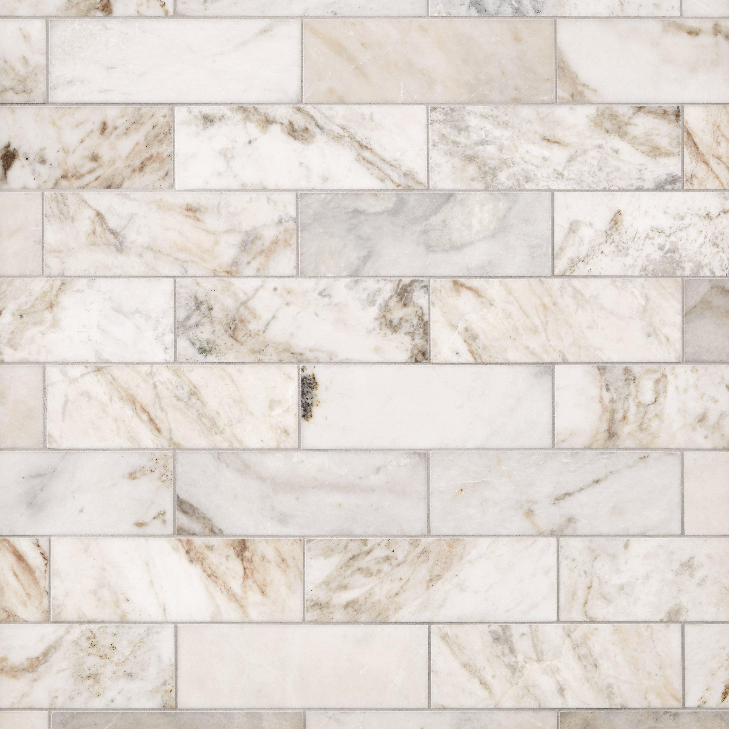 bianco orion marble tile