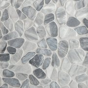 Ice Blue Pebble Mosaic