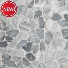 New! Ice Blue Pebblestone Mosaic