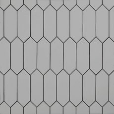 Gray Picket Ceramic Tile