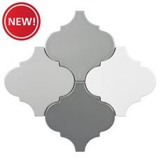 New! Multi Color Arabesque Porcelain Mosaic