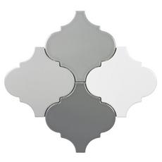 Multi Color Arabesque Porcelain Mosaic