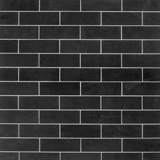 Jet Black Basalt Limestone Tile