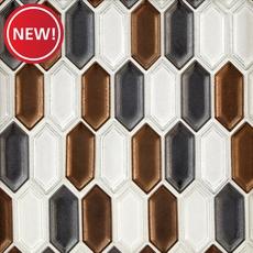 New! Warwick Picket Matte Porcelain Mosaic