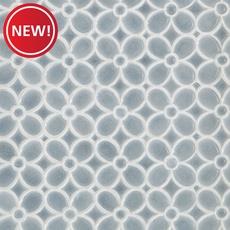 New! Dama Flora Polished Porcelain Mosaic