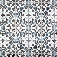 Equilibrio Blue II Encaustic Cement Tile