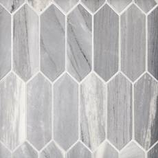 Palissandro Medium Picket Marble Mosaic