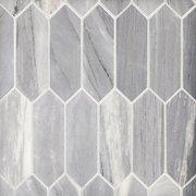 Palissandro Medium Picket Marble Mosaic