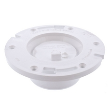 Jones Stephens PVC Closet Flange with Knockout