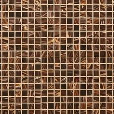 Chocolate Toffee Glass Mosaic