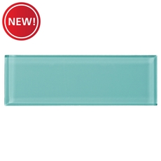 New! Pure Honeydew Glass Tile