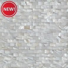 New! Mother of Pearl Marble Mosaic