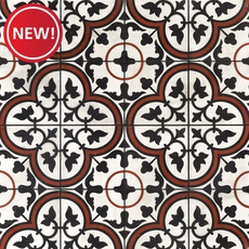 New! Equilibrio Rust Tile