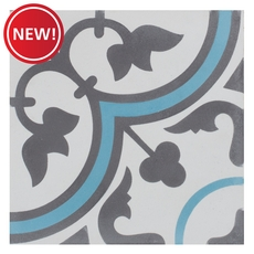 New! Equilibrio Blue Tile